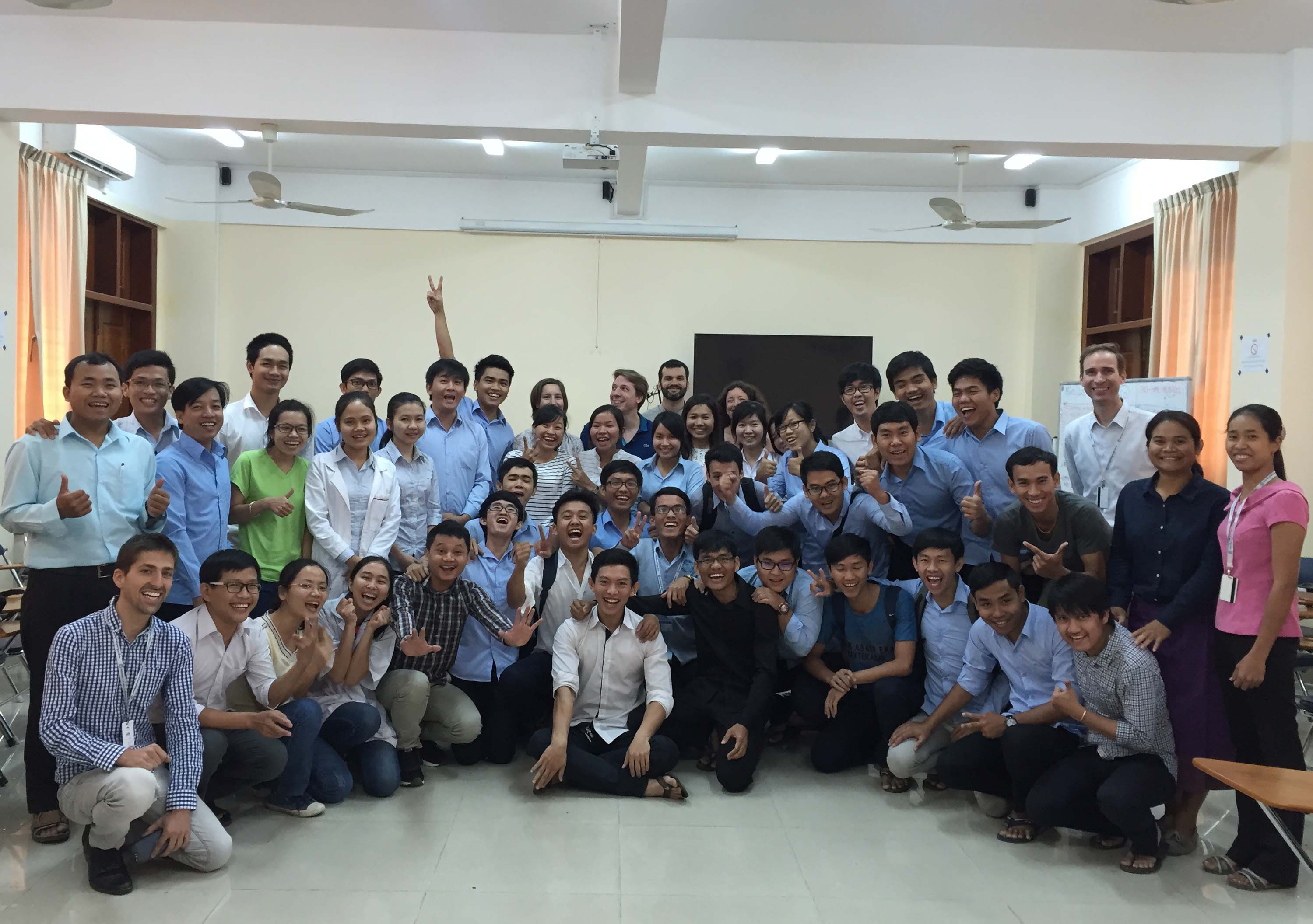 Belle r ussite des tudiants du programme international de for Chambre de commerce cambodge